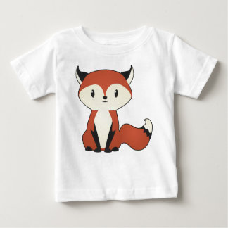 Little Fox Baby Shirt