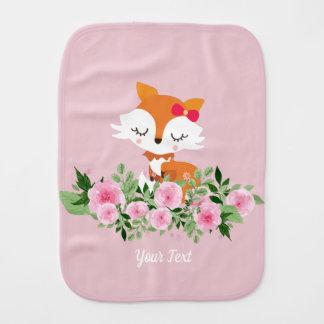 little fox  Burp Cloth