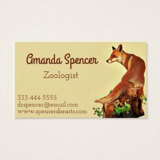 Little Fox Business Card