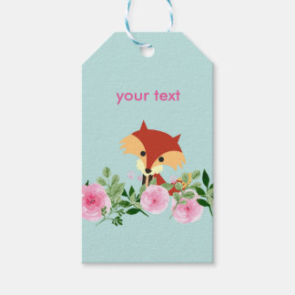 little fox Gift Tags