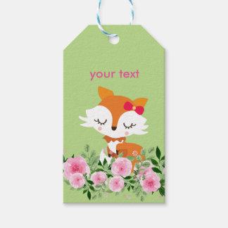 little fox Gift Tags
