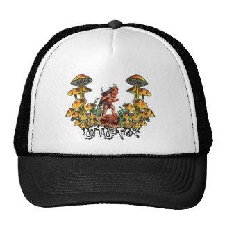 Little Fox In Mushroom Hell! Mesh Hat