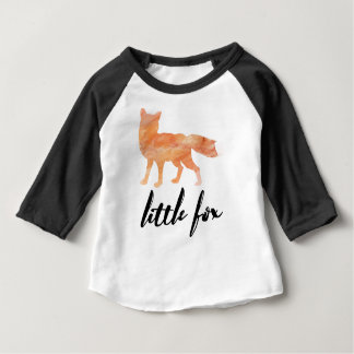 Little Fox Kids Baseball Shirt