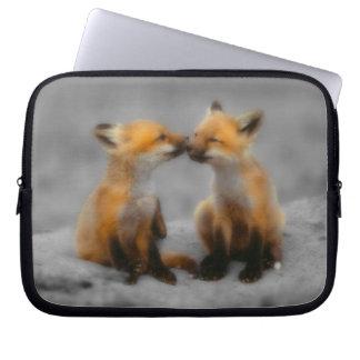 Little Fox Love Computer Sleeves