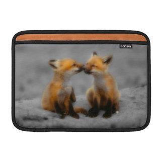 Little Fox Love Sleeve For MacBook Air
