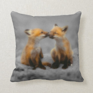 Little Fox Love Throw Cushions