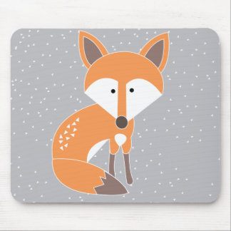 Little Fox Mouse Mat