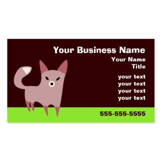 Little Fox Pack Of Standard Business Cards