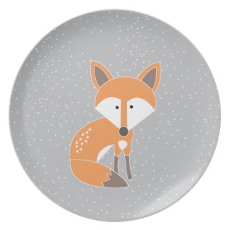 Little Fox Plates
