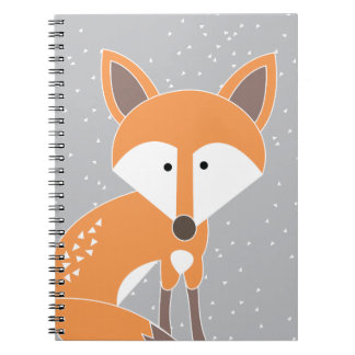 Little Fox Spiral Notebook