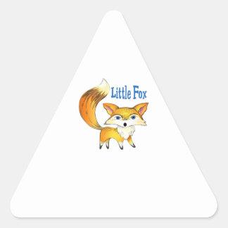 LITTLE FOX TRIANGLE STICKER