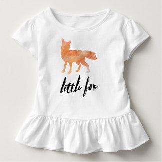 Little Fox Toddler Ruffle T Toddler T-Shirt