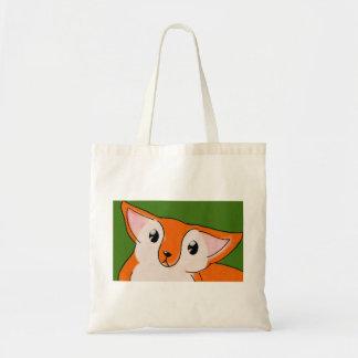 Little Fox Budget Tote Bag