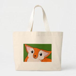 Little Fox Jumbo Tote Bag