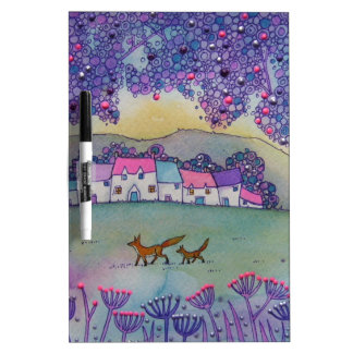 Little Foxes Dry Erase Whiteboards