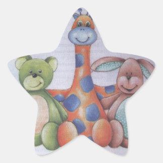 LITTLE FRIENDS STAR STICKER