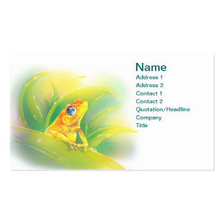 Little Frog Double-Sided Standard Business Cards (Pack Of 100)