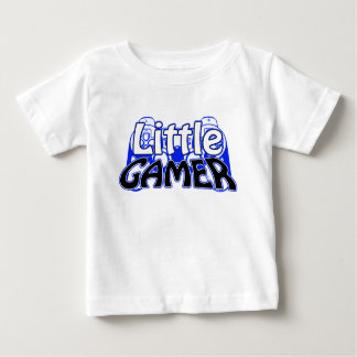 Little Gamer Blue Baby T-Shirt