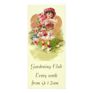 little gardener rack card template