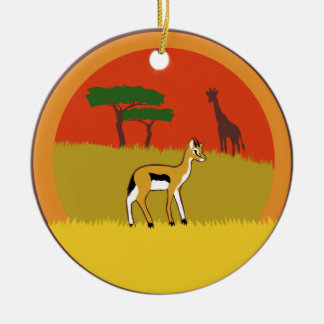 Little Gazelle Christmas Ornament