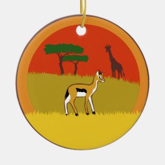 Little Gazelle Christmas Ornament