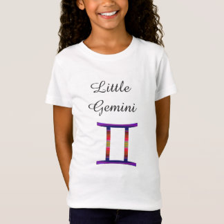 Little Gemini Zodiac Horoscope Sign Kids T-Shirt