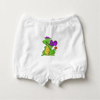 Little Genius Nappy Pants White Nappy Cover