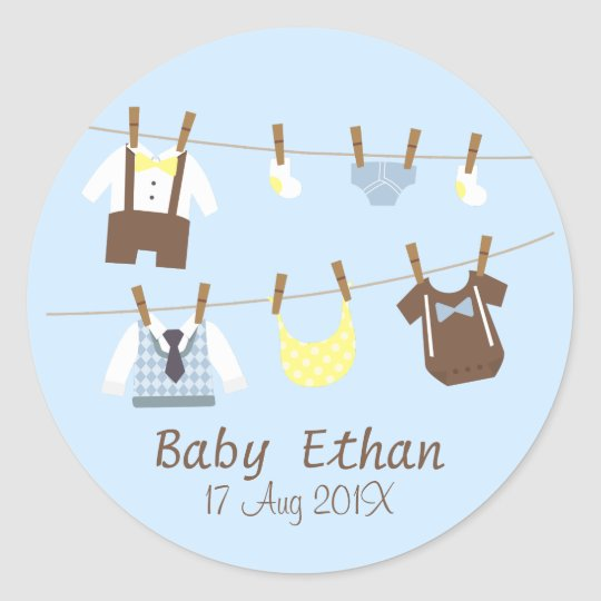 Little Gentleman Baby Boy Shower Party Favours Classic