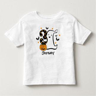 Little Ghost 3rd Birthday Toddler T-Shirt