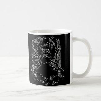 Little Ghost Girl- in White Coffee Mug