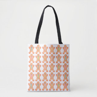 Little Gingerbread Men Tote Bag