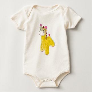 little giraffe baby bodysuit