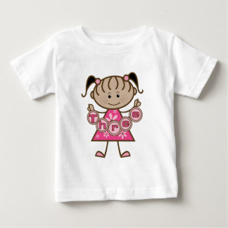 Little Girl 3rd Birthday Tshirts and Gifts