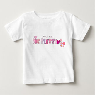 Little Girl, Big Blessing Christian baby t-shirt