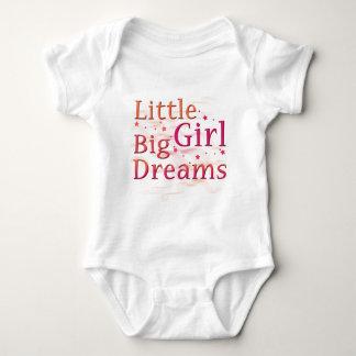 Little Girl Big Dreams Baby Bodysuit