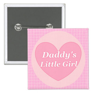Little Girl Button