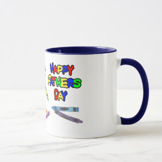 Little girl Father's Day Mug