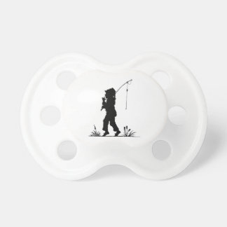 Little Girl Fishing Silhouette Dummy