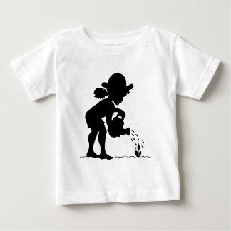 Little Girl Gardener Baby T-Shirt