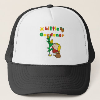 Little Girl Gardener Trucker Hat
