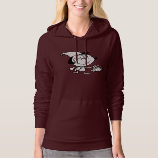 Little Girl Going On A Picnic Womens Hoodie