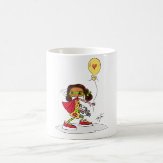 Little Girl Hero Coffee Mug