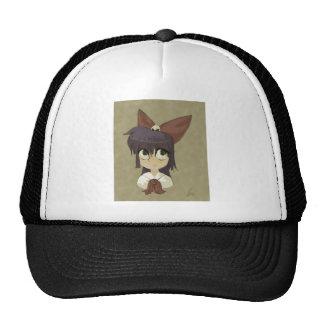 Little Girl in a Bow Trucker Hat