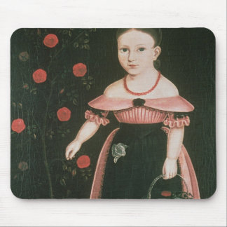 Little Girl in Lavender, c.1840 Mouse Pad