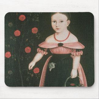 Little Girl in Lavender, c.1840 Mousepad