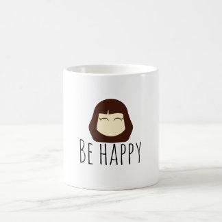 little girl NO.1 BE HAPPY mug
