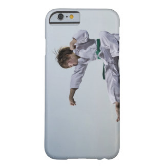 Little girl practicing karate barely there iPhone 6 case