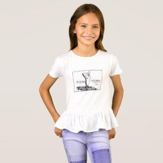 Little Girl Supporter Fashion T-Shirt- Robbie T-Shirt