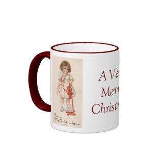 Little Girl's Christmas Wishes Coffee Mug