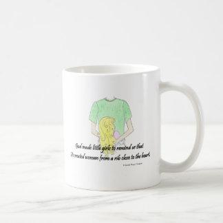 little girls coffee mug